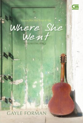 Review #13 Where She Went by Gayle Forman