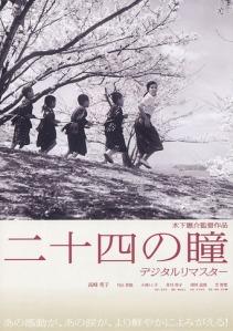 Poster film Nijushi No Hitomi (1954)