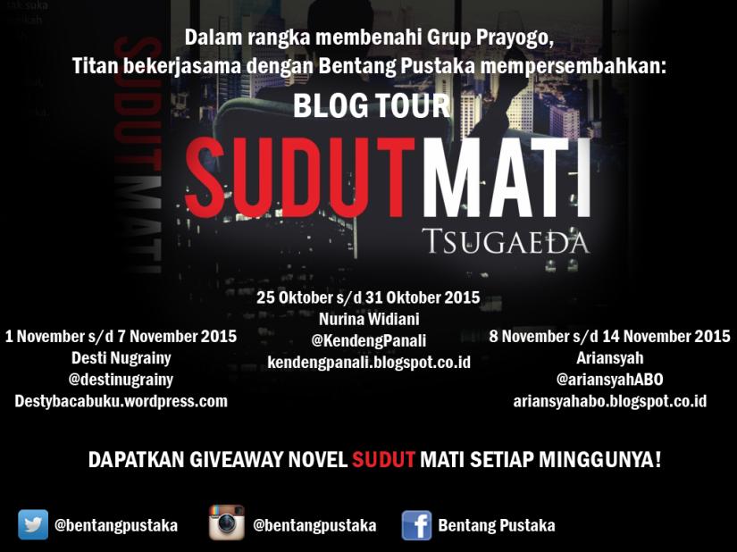 BlogTour Sudut Mati